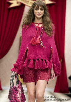 вязаный свитер 2013