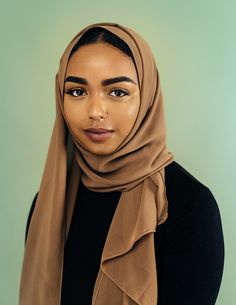 "bobbyrogers: ""#BeingBlackandMuslim portrait series –– 004 // portrait by Bobby Rogers """