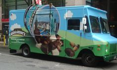ben and jerrys ice cream truck, I want this at my wedding