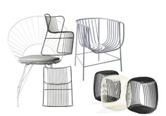 Wire Furniture continues to appear in new forms