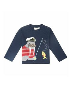 Take a look at this Navy Walrus Tee - Infant, Toddler & Kids by JoJo Maman Bébé on #zulily today!