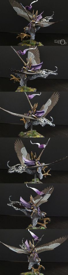 High Elf Prince on Griffon