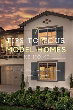 Buying a model home tips