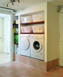 Read This Before You Redo Your Laundry Room Stacked Washer Dryer, Washer And Dryer, Basement Remodeling, Laundry Room, Home Appliances, Design, Home Decor, Sous Sol, Life Hacks