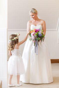 The simple, elegant 'Daisy' gown from Bertossi Brides at Paddington Weddings www.paddingtonweddings.com.au