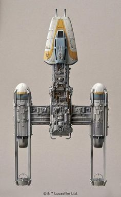 Bandai Star Wars Y-wing Starfighter Scale Model Kit The Force Awakens Japan for sale online Star Trek, Nave Star Wars, Star Wars Ships, Star Wars Art, Star Wars Gifts, Star Wars Toys, Stargate, Maquette Star Wars, Arte Alien
