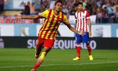 El delantero brasileño y del Barcelona, Neymar Jr.