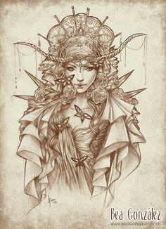 Le papillon by *Bea-Gonzalez on deviantART