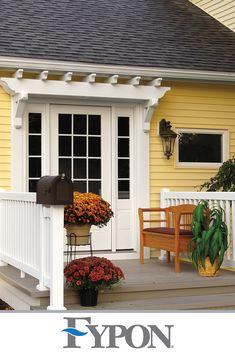 Patio Design, Exterior Design, House Design, Pergola Patio, Backyard Patio, Outdoor Spaces, Outdoor Living, Outdoor Decor, Porch Addition