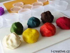 domácí modelína pro děti Play Doh, Diy For Kids, Ethnic Recipes, Creative, Desserts, Food, Tailgate Desserts, Meal, Dessert