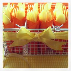 Sunshine Party - utensil caddy