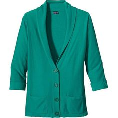 I have to admit: I'm addicted to cardigans. Perfect for layering and versatile if you are limited to a suitcase and not a closet. Au Fait Cardigan (Women's) #Patagonia at RockCreek.com