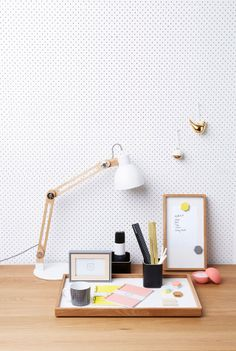 If you love Scandi Decor or you're a fan of a neutral colour palette, this post will show you how to bring in the right hues to make the decor shine White Pegboard, Workspace Inspiration, Desk Inspo, Home Desk, Neutral Colour Palette, Desk Accessories, My Room, Interior And Exterior, Modern Exterior