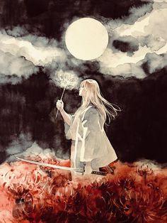 Kogoro on – Gintama Manga Anime, Manga Art, Blue Exorcist, Gintama Funny, Gintama Wallpaper, Inu Yasha, Naruto, Itachi, Cowboy Bebop
