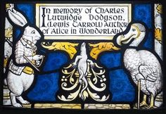 「white rabbit stained glass  daresbury」の画像検索結果