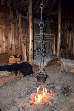 Eiriksstadir Viking Longhouse Viking sites in Iceland Ancient Jewelry, Viking Jewelry, Norway Culture, Viking Aesthetic, Danish Vikings, Nordic Vikings, Camping Set Up, Long House, Viking Life