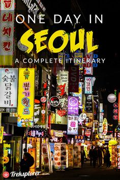 Only got one day in Seoul? Kick-start your trip with this complete itinerary for 24 hours in Seoul! Includes suggestions for what to do, what to eat and where to stay. South Korea Seoul, South Korea Travel, Asia Travel, Solo Travel, Travel Packing, Seoul Itinerary, Visit Seoul, Asia Continent, Backpacking Asia