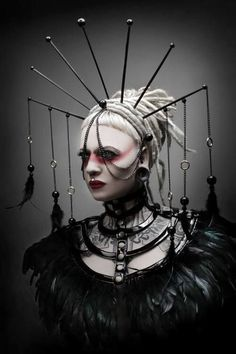 Headdress Goth pagan