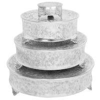 24-inch Aluminum Cake Stand (Set of 4)