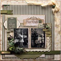 """Joy to the World"" Layout by Sandie Edwards - http://www.kaisercraft.com.au/blog/page/34/"