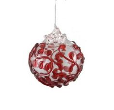 I'm always excited for this time of year @ Appalachian Spring  the Decorated Orb Ornament- Several Choices