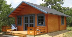 The Adorable Cabin Kit with Loft Is $17,500.00