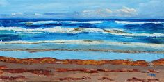 Seaweedscape by Connie Miller Oil ~ 18 x 36