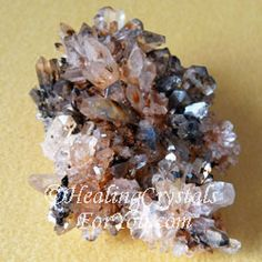 Creedite Cluster...Creedite crystals have a high crystal energy, that brings through a powerful resonance that causes an expansion within your higher chakras, and lifts your overall vibration. The vibration of these crystals is easy to feel, especially in the upper chakras, and they have a strong resonance within the throat chakra which aids communication.