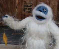 Image result for needle felted Abominable Snowman