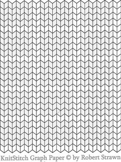 knit stitch Graph Paper small without ginger bunny dot com |  by garilynn.  This could be useful. #