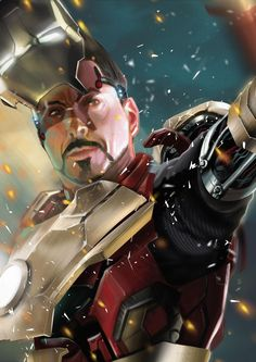 IRON MAN 3 ART JAM by rocketraygun.deviantart.com on @deviantART