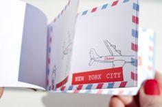 cute flip book from Sandro! - fall 2012 fashion week invite