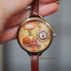 Miss Keke Девушки Дети Часы Глины Мини Слово Цветок Кожаный Ремешок Наручные Часы Для Студентов Мультфильм Кварцевые часы Montre Enfant 881