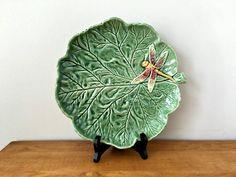 Hey, I found this really awesome Etsy listing at https://www.etsy.com/listing/278138048/leaf-platter-bordallo-pinheiro-portugal