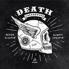 DEATH COLLECTIVE on Behance by Benny Blunder — Designspiration