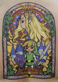 Tatouage, Zelda
