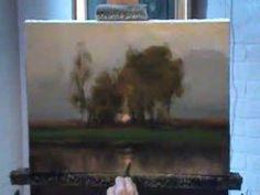 ▶ Dennis Sheehan painting demo - YouTube