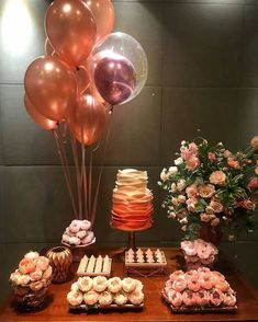 Latest Photo simple Birthday Decorations Ideas Creamy muted brownies, colourful images, balloons and ribbons. Fun-filled schoolhouse vibe in addition to tranquil enjoy 18th Birthday Party, Birthday Table, Mom Birthday, Cake Birthday, Simple Birthday Surprise, Décoration Rose Gold, Simple Birthday Decorations, Its My Bday, Diy Party