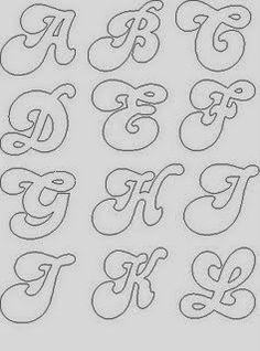 Ensino, Educação e Reflexão: Alfabetos e moldes de letras para E.V.A.