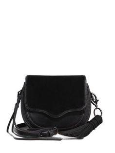 REBECCA MINKOFF Suki Mini Leather  amp  Suede Saddle Crossbody Bag.   rebeccaminkoff  bags 544ee5ac305bf