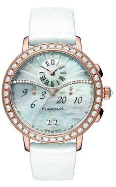 Женские часы Blancpain Chronograph Large Date - Роскошь и точность | LuxuriousWatches.ru