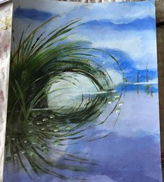 10 Circular Reflections Pictures To Paint, Reflection, Waves, Photo And Video, Paintings, Outdoor, Google, Photos, Art