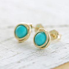 need turquoise earrings.