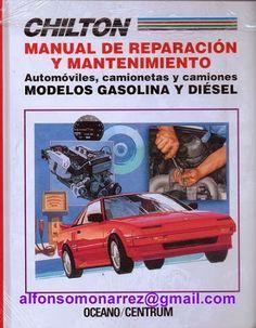 LIBROS: MANUAL REPARACIÓN MANTENIMIENTO AUTOMÓVILES CAMION...