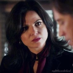 "Regina's very distinctive ""what the f are you up to rumple"" face"