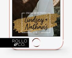 Engagement Party Snapchat Filter Engagement Snapchat Filter