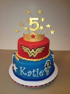 wonder woman birthday | Flickr - Photo Sharing!