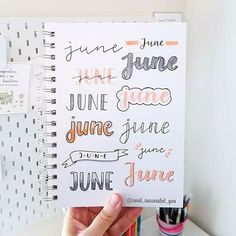 The Journal Bee Love Header and paper notes idea by Seed Successful You Bullet Journal School, Bullet Journal Writing, Bullet Journal Headers, Bullet Journal Banner, Bullet Journal Aesthetic, Bullet Journal Ideas Pages, Bullet Journal Inspo, Tittle Ideas, Bellet Journal