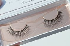 Esqido Lashlorette mink lashes - perfect bridal lashes // http://esqido.com