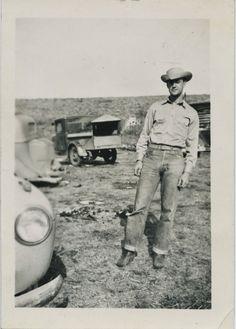 vintage cowboy.